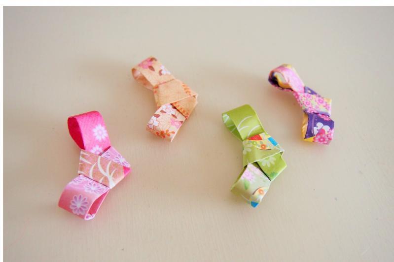 簡単 折り紙 折り紙で作る箸置き : mamagirl.jp