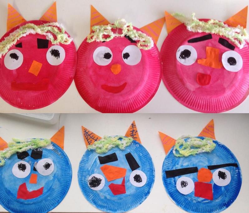 3歳からいっしょにつくれる5種類の鬼のお面の作り方mamagirl ママ