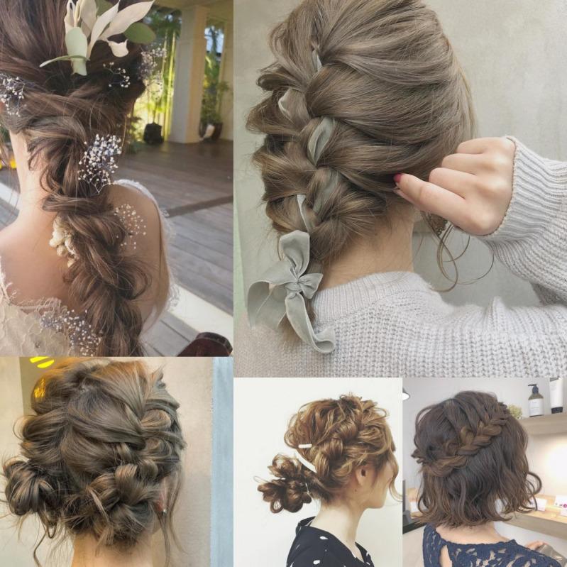 大人かわいい髪型は編み込みで決まり!長さ別おすすめヘア