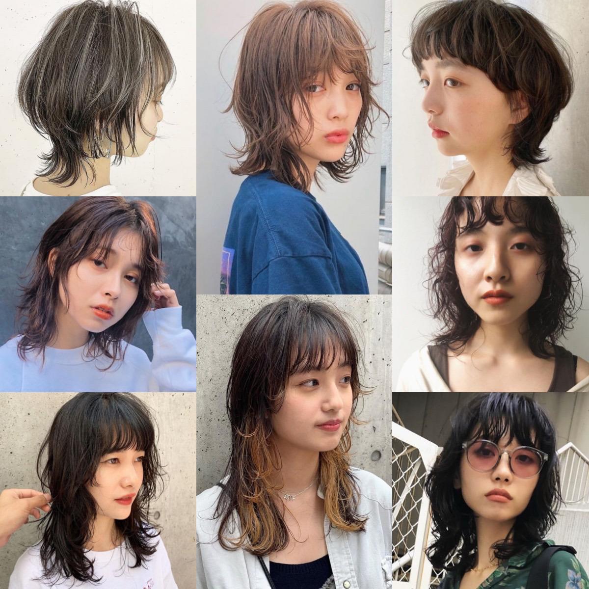 ミディアム 2020 髪型